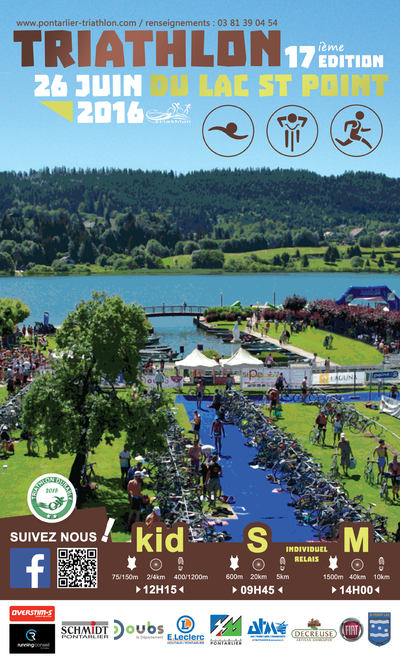 Affiche_Triathlon_Lac_St_Point_2016